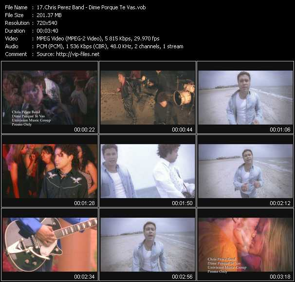 Chris Perez Band video screenshot
