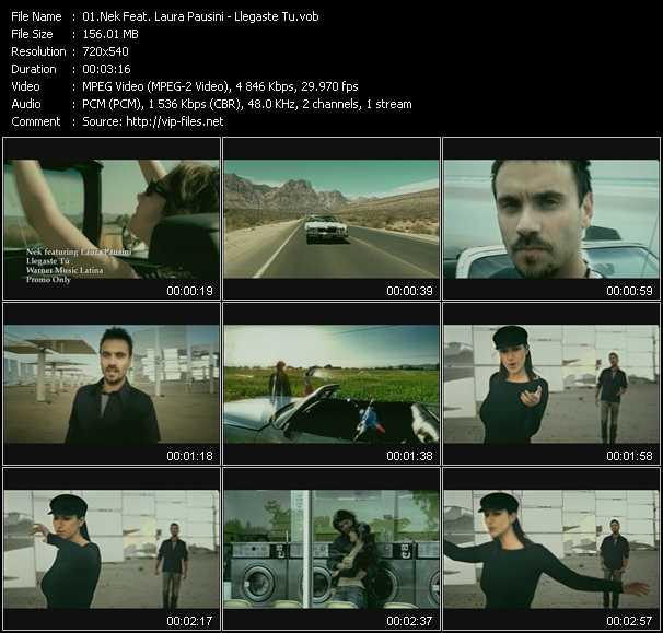 Nek Feat. Laura Pausini video screenshot