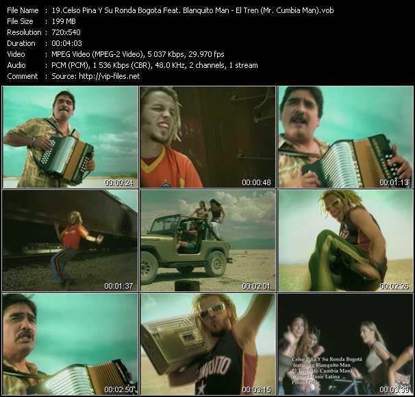 Celso Pina Y Su Ronda Bogota Feat. Blanquito Man video screenshot