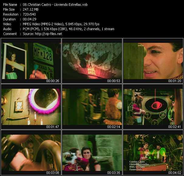 Christian Castro video screenshot