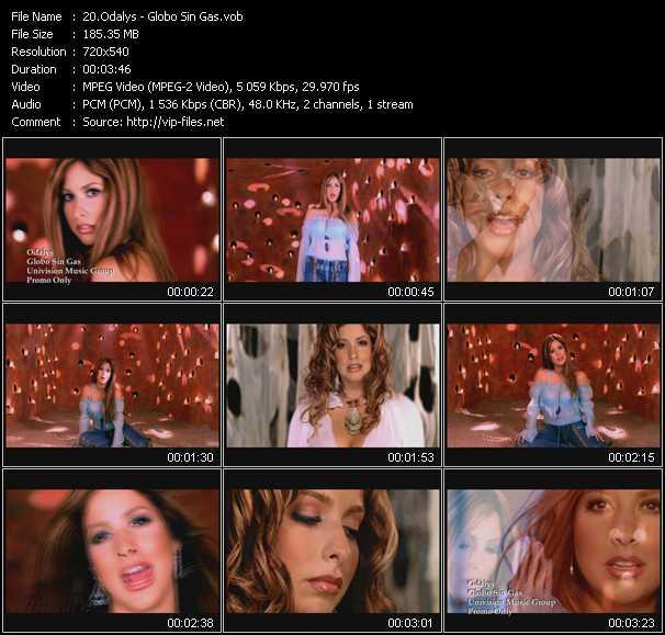 Odalys video screenshot