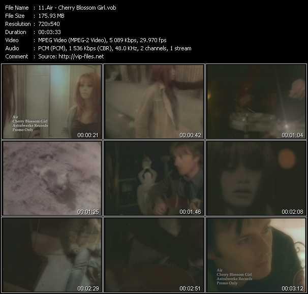 Air video screenshot