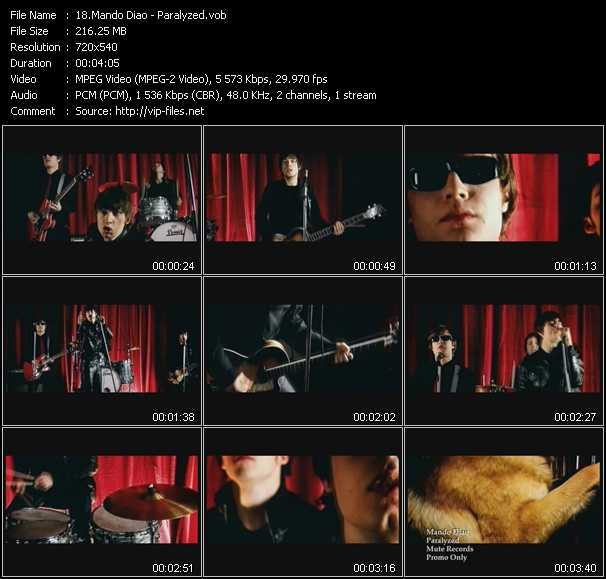 Mando Diao video screenshot