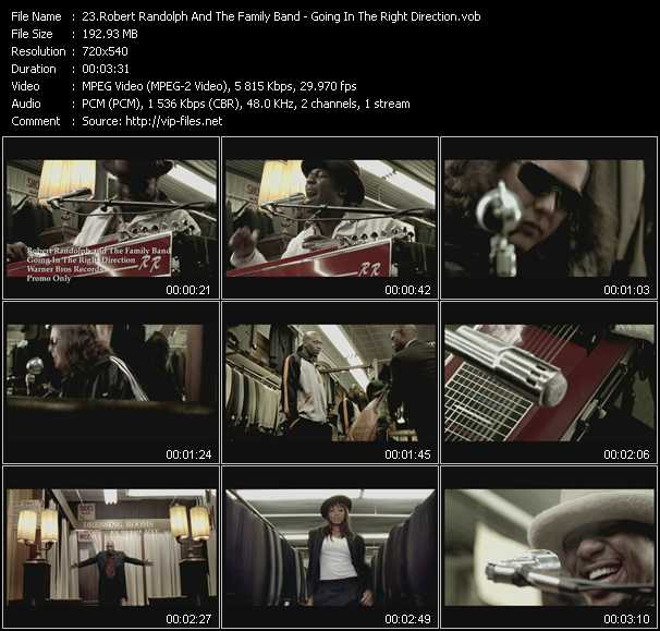 Robert Randolph And The Family Band video screenshot