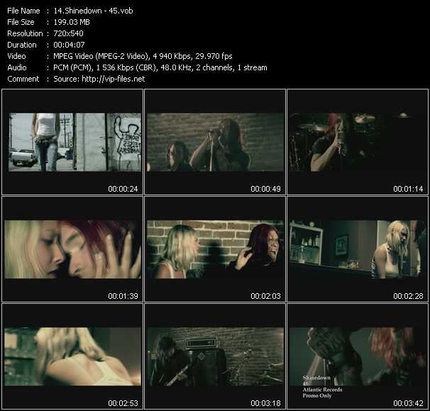 Shinedown video screenshot