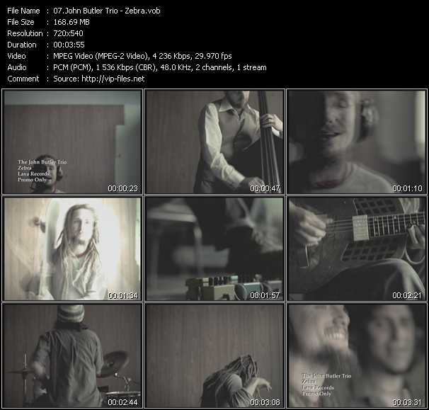 John Butler Trio video screenshot