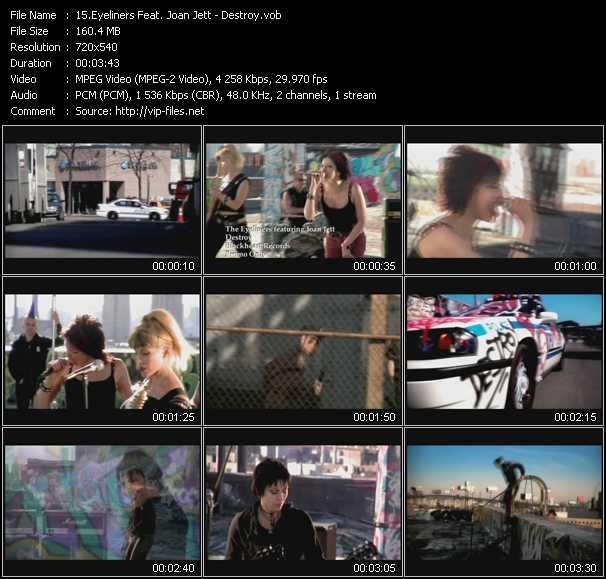 Eyeliners Feat. Joan Jett video screenshot