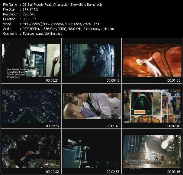 Ben Moody Feat. Anastacia video screenshot