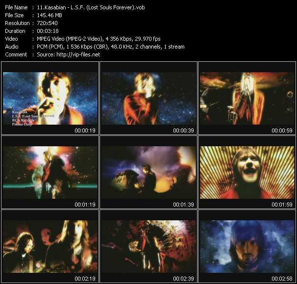 Kasabian video screenshot