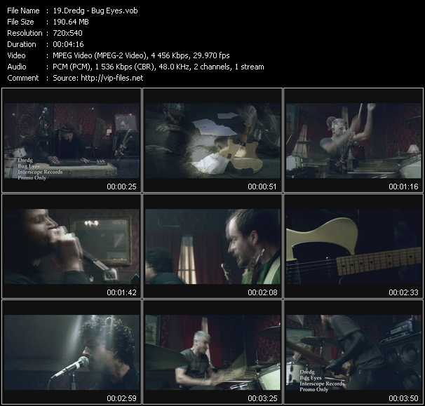 Dredg video screenshot
