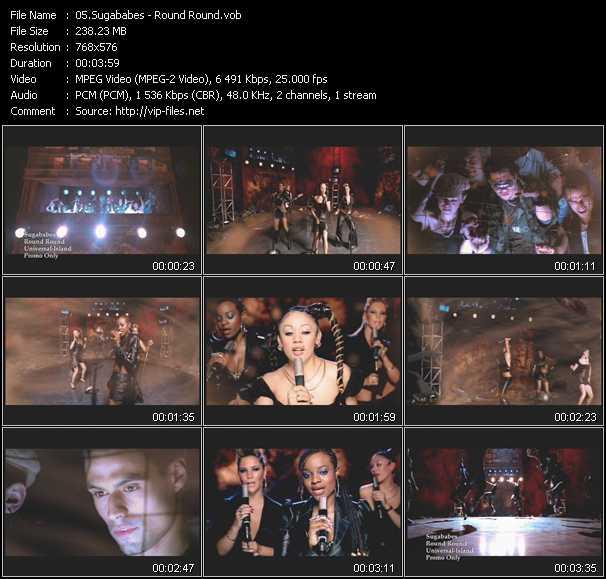 video Round Round screen