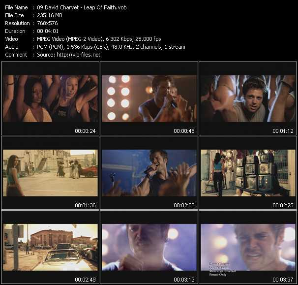 David Charvet video screenshot