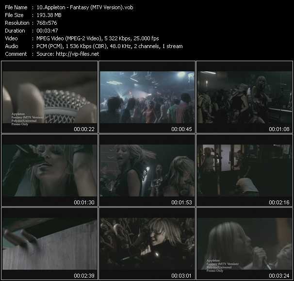Appleton video screenshot