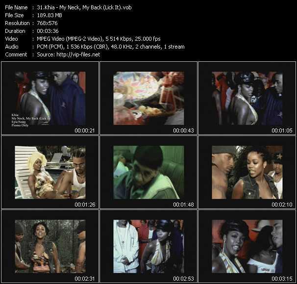 Khia video screenshot
