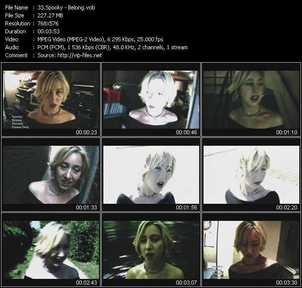 Spooky video screenshot