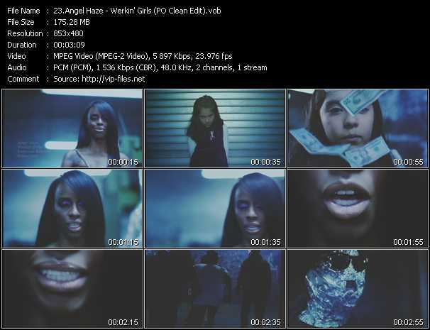 Angel Haze video screenshot