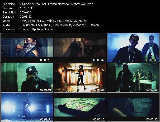 Uncle Murda Feat. French Montana video screenshot