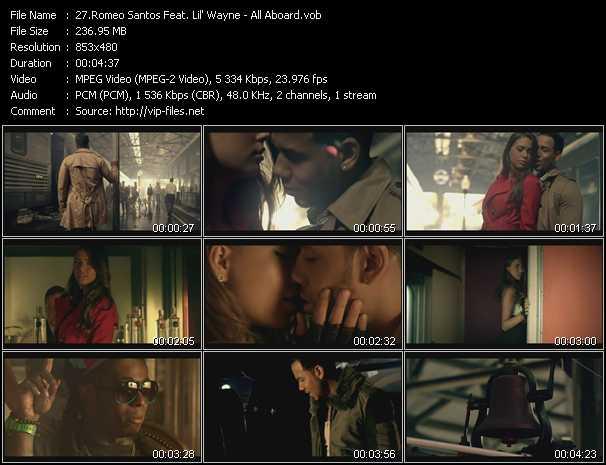 Romeo Santos Feat. Lil' Wayne video screenshot