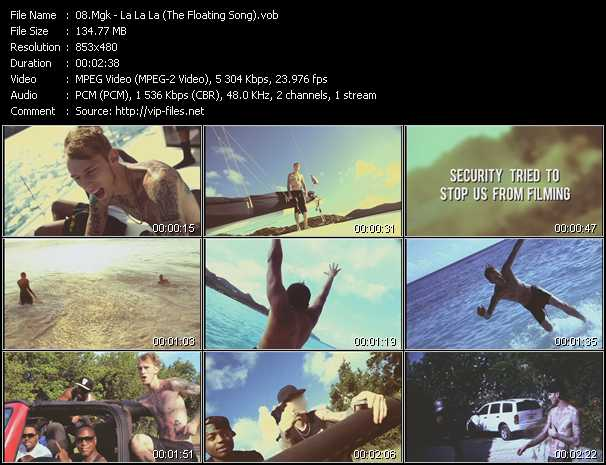 Mgk video screenshot