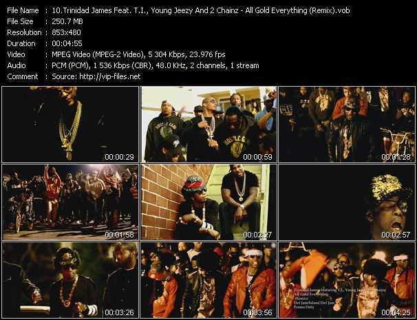 Trinidad James Feat. T.I., Young Jeezy And 2 Chainz video screenshot