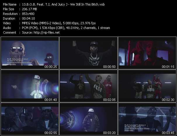 B.O.B. Feat. T.I. And Juicy J video screenshot