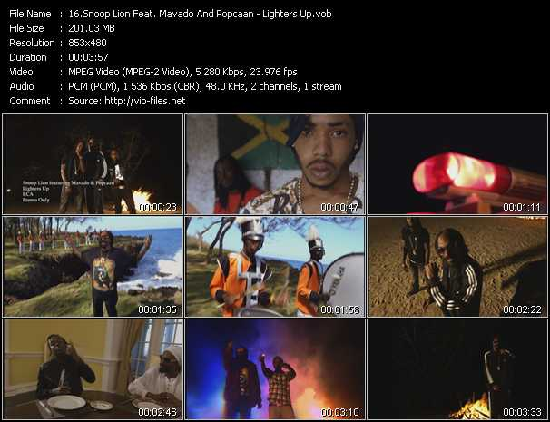 Snoop Lion Feat. Mavado And Popcaan video screenshot