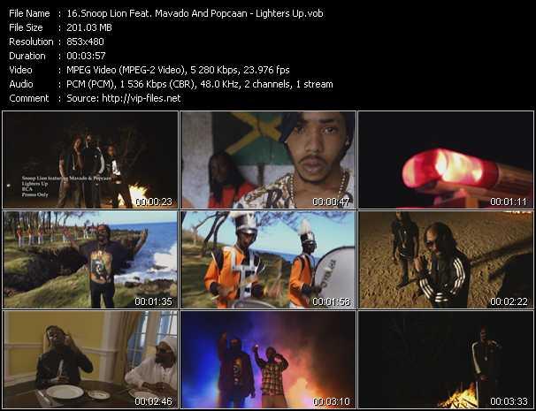 Snoop Lion Feat. Mavado And Popcaan video screenshot