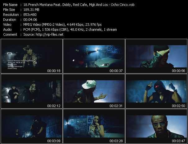 French Montana Feat. P. Diddy (Puff Daddy), Red Cafe, Mgk And Los video screenshot