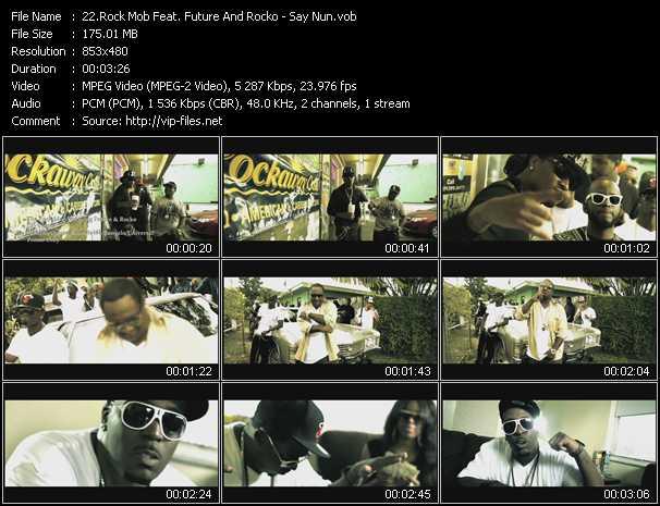 Rock Mob Feat. Future And Rocko video screenshot