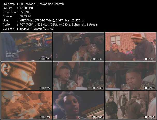 Raekwon video screenshot