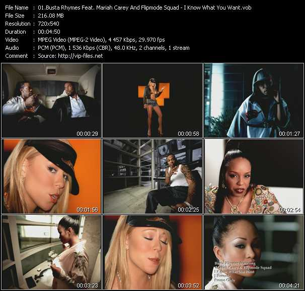 Busta Rhymes Feat. Mariah Carey And Flipmode Squad video screenshot