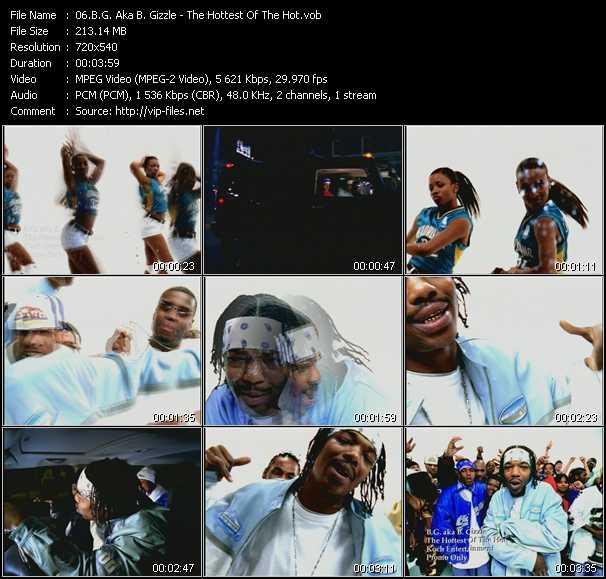 B.G. Aka B. Gizzle video screenshot