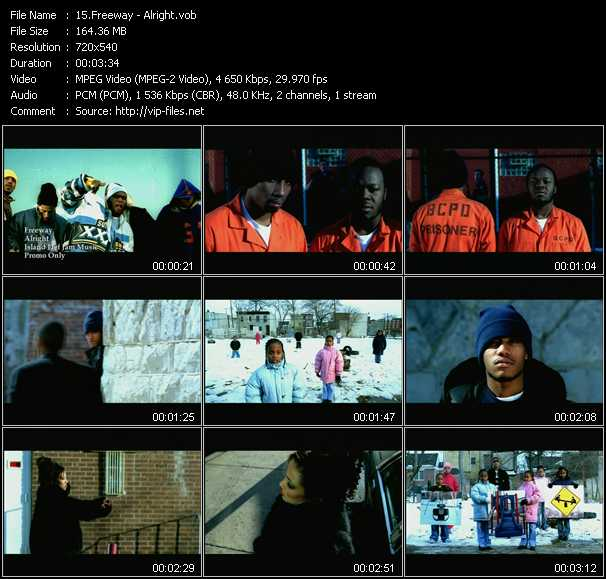 Freeway video screenshot