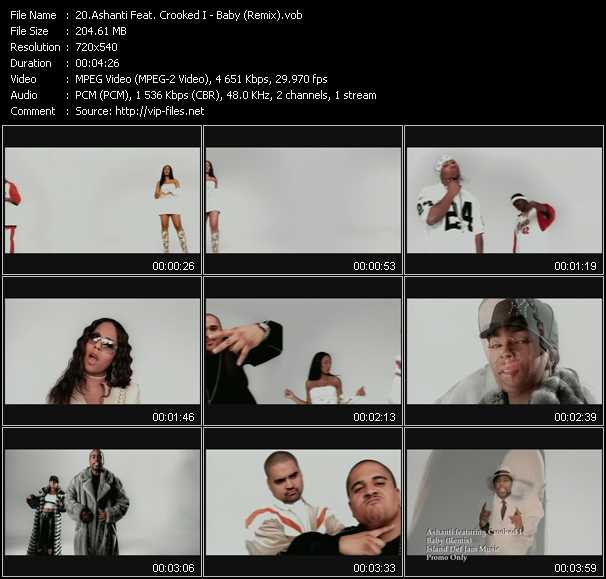 Ashanti Feat. Crooked I video screenshot