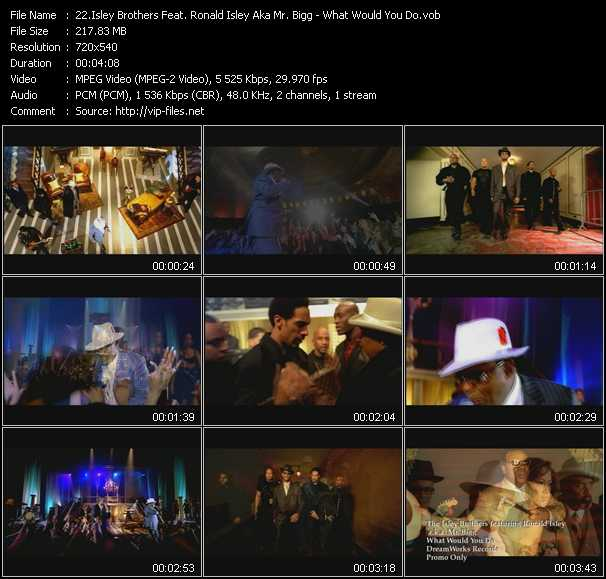 Isley Brothers Feat. Ronald Isley Aka Mr. Bigg video screenshot