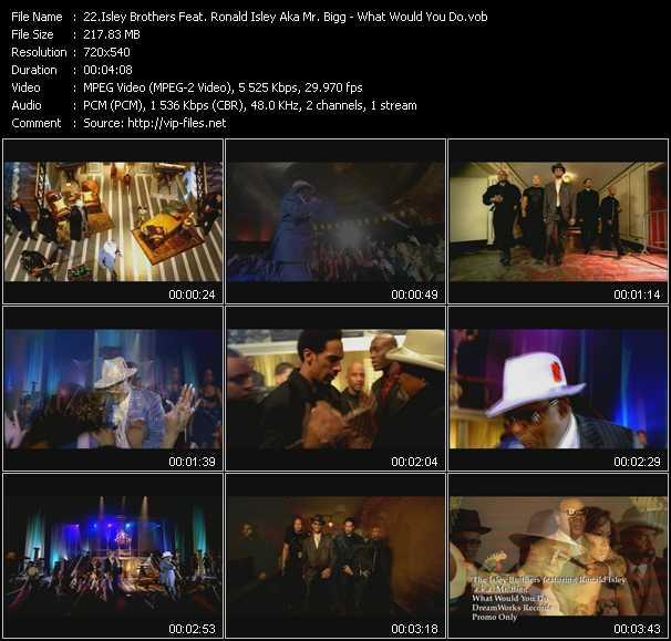 Isley Brothers Feat. Ronald Isley Aka Mr. Bigg video screenshot