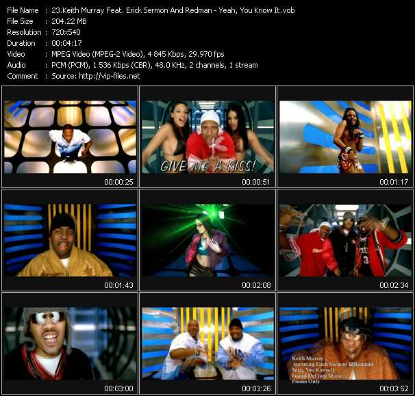 Keith Murray Feat. Erick Sermon And Redman video screenshot
