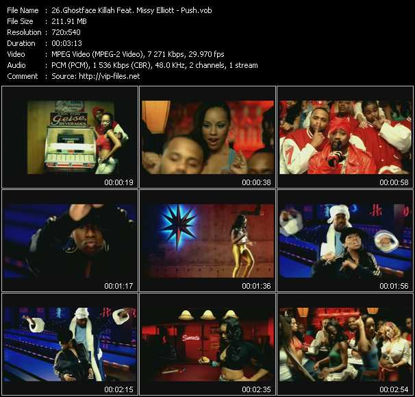 Ghostface Killah Feat. Missy Elliott video screenshot