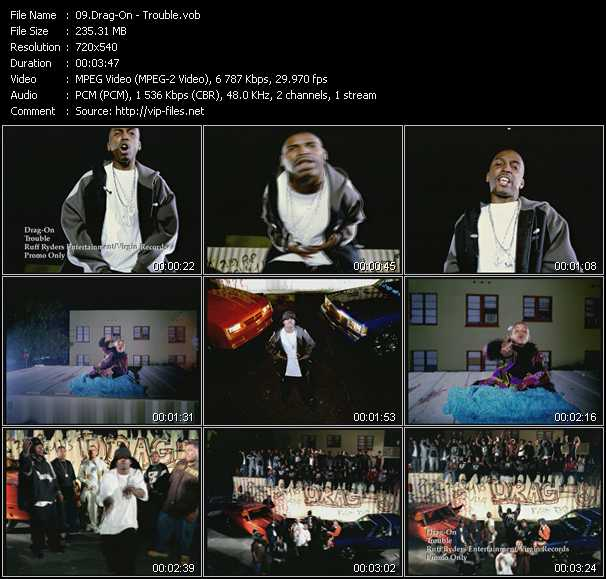 Drag-On video screenshot
