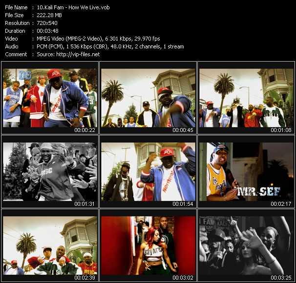 Kali Fam video screenshot