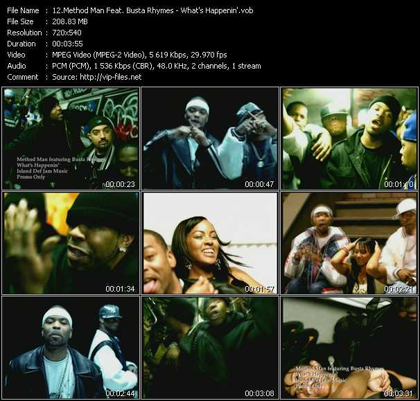 Method Man Feat. Busta Rhymes video screenshot