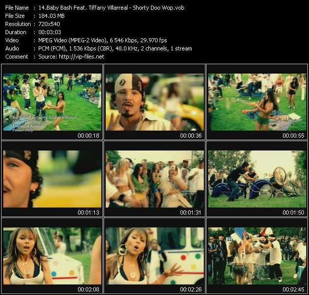 Baby Bash Feat. Tiffany Villarreal video screenshot