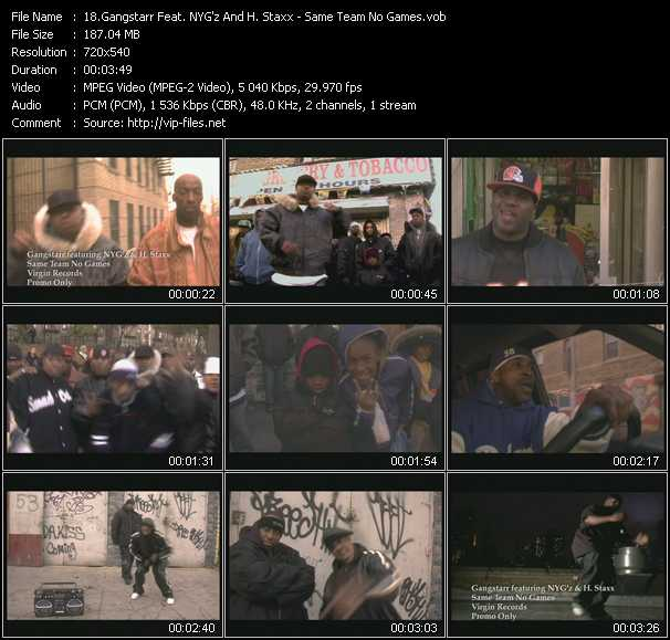 Gangstarr Feat. NYG'z And H. Staxx video screenshot