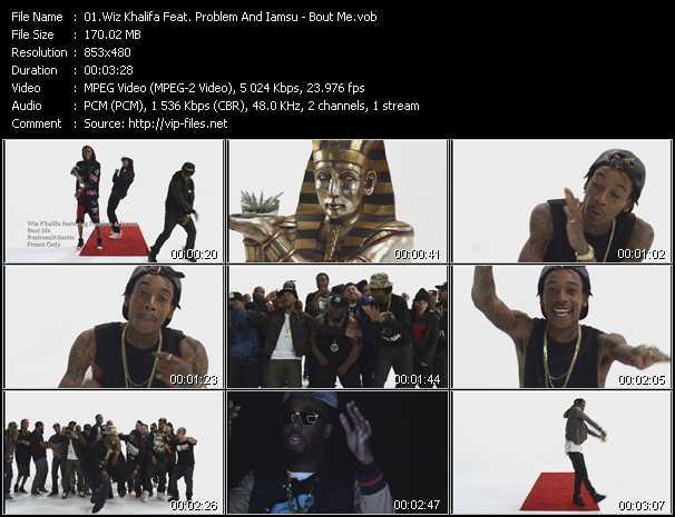 Wiz Khalifa Feat. Problem And Iamsu video screenshot