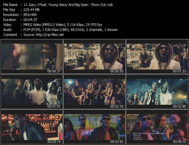 Juicy J Feat. Young Jeezy And Big Sean video screenshot