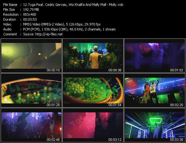 Tyga Feat. Cedric Gervais, Wiz Khalifa And Mally Mall video screenshot