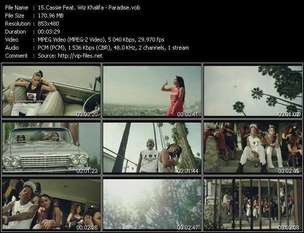 Cassie Feat. Wiz Khalifa video screenshot