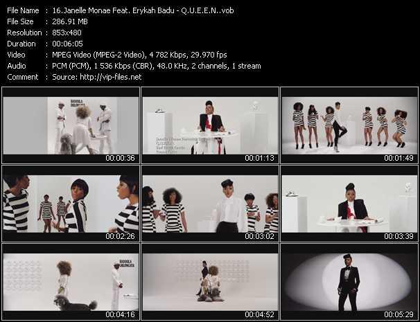 Janelle Monae Feat. Erykah Badu video screenshot