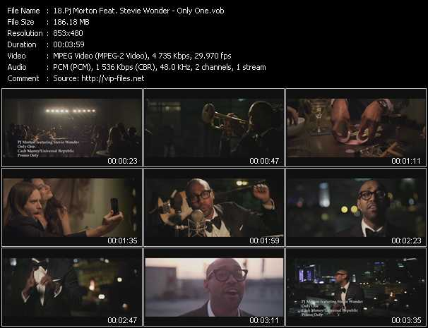 Pj Morton Feat. Stevie Wonder video screenshot