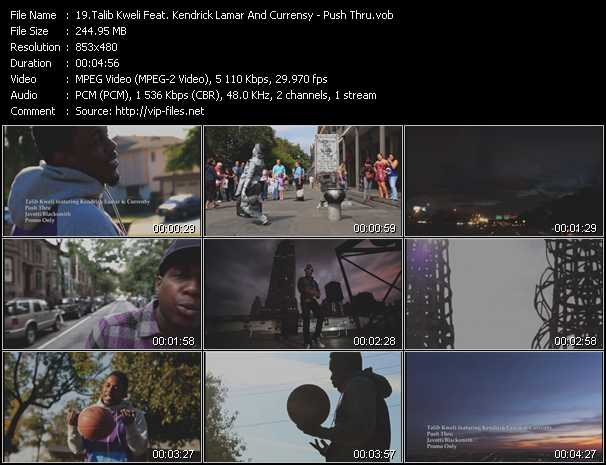 Talib Kweli Feat. Kendrick Lamar And Currensy video screenshot
